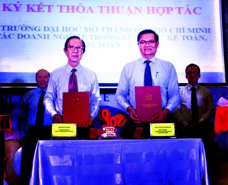 Viet Australia's MoU with Ho Chi Minh City Open University