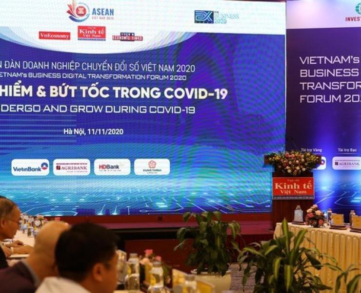 """Diễn đàn doanh nghiệp & Chuyển đổi số Việt Nam 2020: """"Thoát hiểm và bứt tốc sau Covid-19"""""""